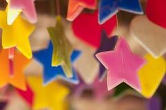 Velas, variedade colorida Imagens de Stock Royalty Free
