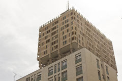 Velasca塔在米兰 免版税库存照片