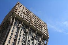 Velasca torn i Milan, brutalistarkitektur Royaltyfri Fotografi