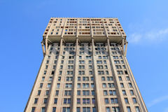 Velasca-Turm in Mailand, Brutalistarchitektur Stockfotos