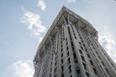 Velascatoren in Milaan, brutalistarchitectuur Stock Afbeelding