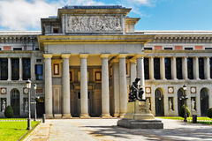 Velasquez monument near Prado museum Royalty Free Stock Image