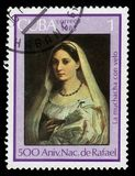 Velata donna Ла Рафаэль стоковые изображения