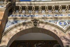 Velazquez palace in the Retiro park, Madrid Spain. Rock Stock Photo