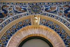 Velazquez-Palast im Retiro-Park, Madrid Spanien Lizenzfreie Stockfotografie