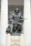 Velazquez statue, Museo del Prado, Madrid city, Spain Royalty Free Stock Image