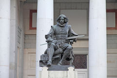 Velazquez statue, Museo del Prado, Madrid  Spain Stock Images