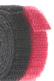 Velcro Fasteners Isolated Stock Image