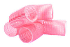 Velcro hair rollers curlers Stock Photography