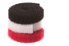 Velcro Hook and Loop Fasteners Isolated Royalty Free Stock Photos