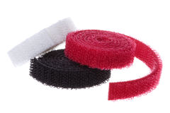 Velcro Hook and Loop Fasteners Isolated Stock Images