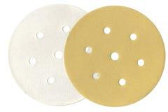 Velcro som maler, disketten (för sandpappra) Arkivfoton