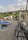 Velden στην Αυστρία Στοκ εικόνα με δικαίωμα ελεύθερης χρήσης