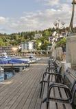 Velden w Austria Obraz Royalty Free