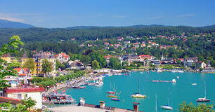 Velden,Woerthersee,Carinthia,Austria royalty free stock images