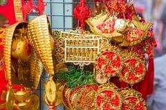 Vele amulet gunstig van de Chinezen De brieven in het beeld betekenen royalty-vrije stock afbeelding