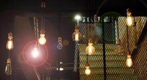 Vele antiquiteit van de Lampverlichting stock foto