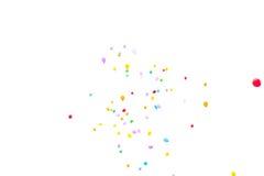 Vele baloons die hoog in hemel vliegen Stock Afbeelding