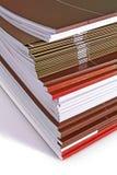 Vele bedrijfsdagboeken Stock Afbeeldingen