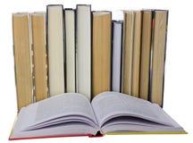 Vele boeken Stock Fotografie