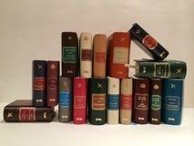 Vele boeken Stock Foto
