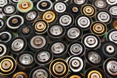 Vele brushless elektrische motoren van CD en dvd aandrijving stock afbeeldingen