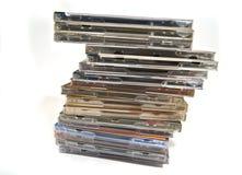 Vele CD & dvd dozen Royalty-vrije Stock Afbeelding