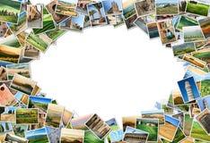 Vele foto's van Toscanië Stock Afbeelding