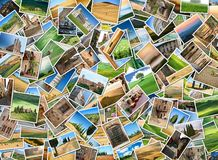 Vele foto's van Toscanië Stock Fotografie