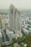 """Vele gebouwen die van má""""  dern in Tokyo toenemen Stock Foto"""