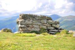Vele gestapelde stenen royalty-vrije stock foto