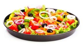 Vele groenten in een pan Stock Fotografie