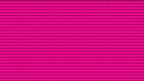 Vele heldere lijnen op zwarte, abstracte computer produceerden achtergrond, het 3D teruggeven Royalty-vrije Stock Foto