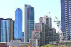 Highrise stadsgebouwen Australië Stock Fotografie