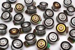 Vele kleine brushless elektrische motoren stock foto's