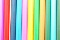 Vele kleurpotloden Royalty-vrije Stock Foto
