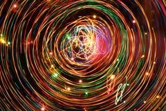 Vele kleurrijke lijnenabstractie. Royalty-vrije Stock Afbeeldingen