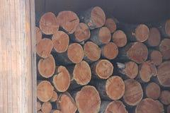 Vele logboeken Stock Afbeelding