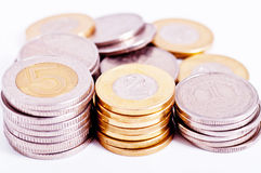 Vele muntstukken Royalty-vrije Stock Foto