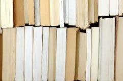Vele oude boeken royalty-vrije stock fotografie