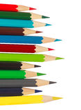 Vele potloden Royalty-vrije Stock Fotografie