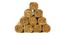 Vele sigaren op de lijst Royalty-vrije Stock Fotografie