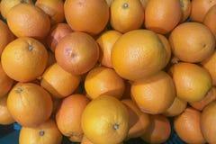 Vele Sinaasappel wordt gecombineerd voor eet stock foto's