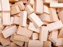 Vele stukken van hout zullen waarschijnlijk van het belangrijkste product verspillen royalty-vrije stock afbeelding