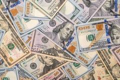 Vele verschillend ons dollar Stock Afbeelding