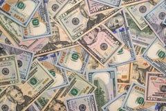 Vele verschillend ons dollar Stock Foto