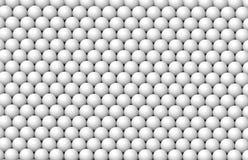 Vele witte ballen Stock Fotografie