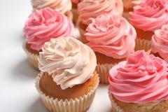 Vele yummy cupcakes royalty-vrije stock fotografie