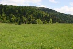 Velebit山脉在克罗地亚 免版税图库摄影