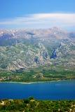 Velebit и Paklenica весной стоковое изображение rf